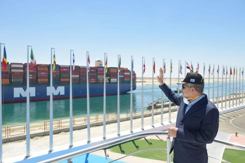 قناة السويس تسجل عبور 19311 سفينة بحمولات 1,21 مليار طن خلال العام المالي