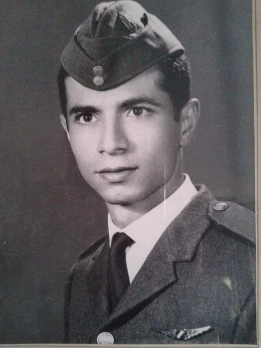 ذكري استشهاد  ملازم اول طيار أمير علي عبد الغني  من ابطال القوات الجوية