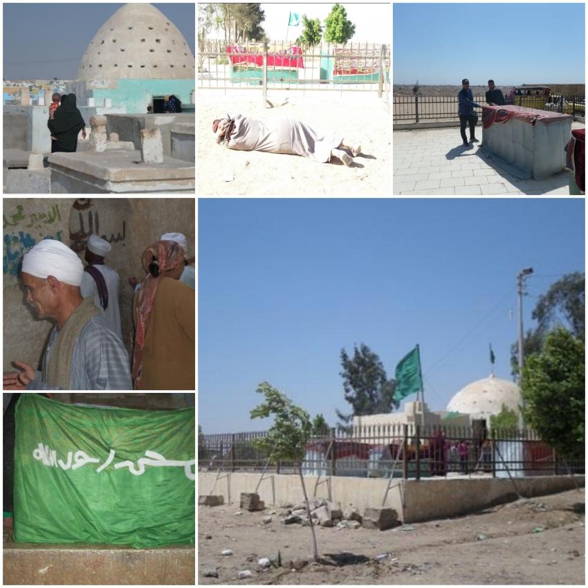مسجد قبة السبع بنات بـ«البهنسا» .. قبلة لراغبي الشفاء من الأمراض بالمنيا
