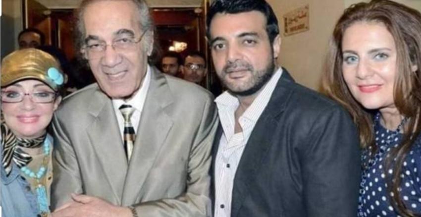 رانيا تنفى خبر وفاة والدها الفنان محمود ياسين