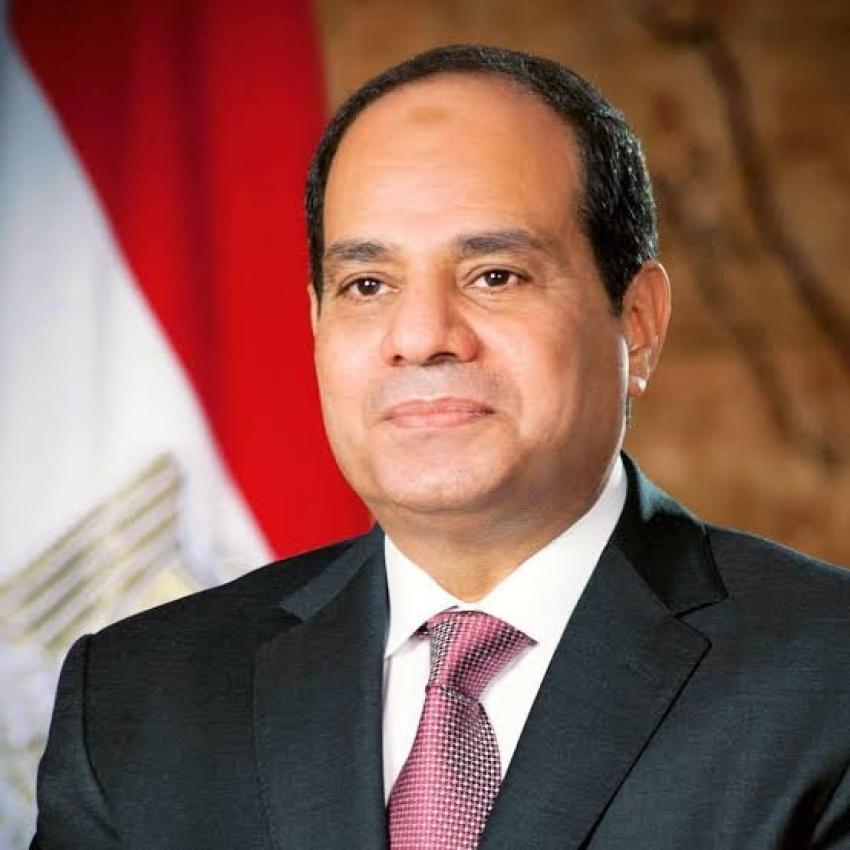 """""""السيسي """"موقف مصر ثابت بشأن ضرورة التوصل لإتفاق قانوني وملزم حول ملء وتشغيل سد النهضه"""