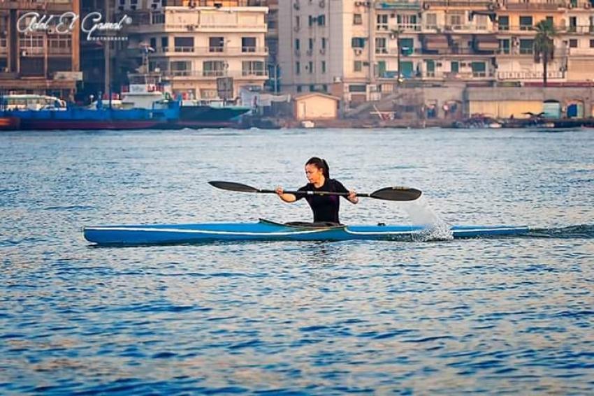المقاولون العرب يحصد اللقب الاول لكاس مصر للكياك