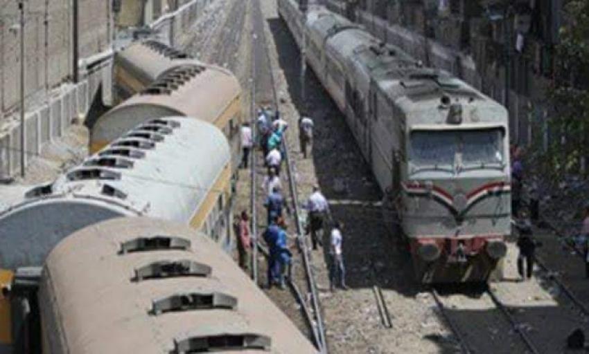 النائب العام يأمر بانتقال فريق من النيابة  لمعاينة حادث قطار البدرشين