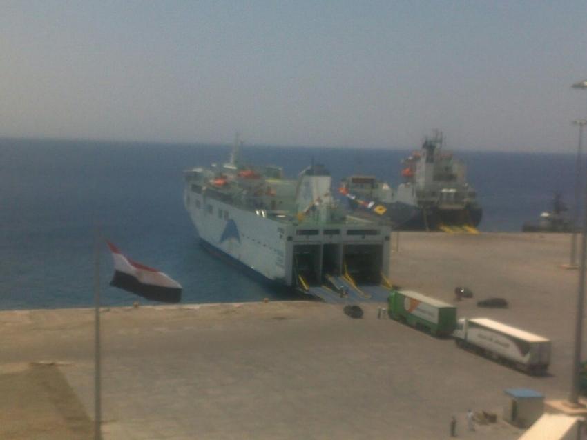 تداول 368 الف طن بضائع عامة بموانى البحر الاحمر خلال شهر يونيو الماضى