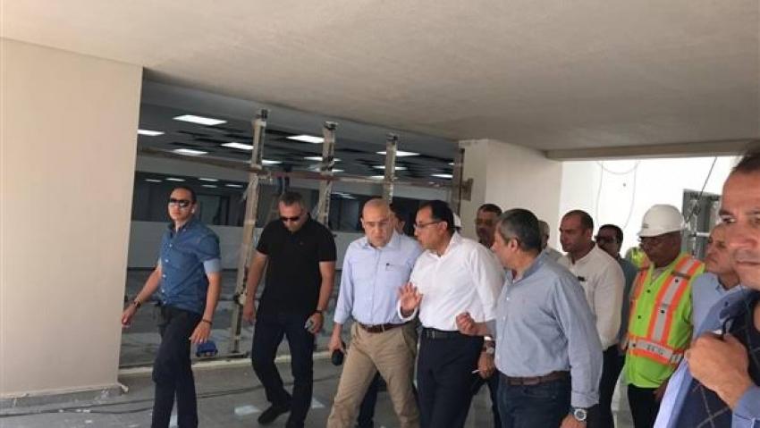 رئيس الوزراء يتفقد فرع الأكاديمية العربية للعلوم والتكنولوجيا والنقل البحري بمدينة العلمين الجديدة