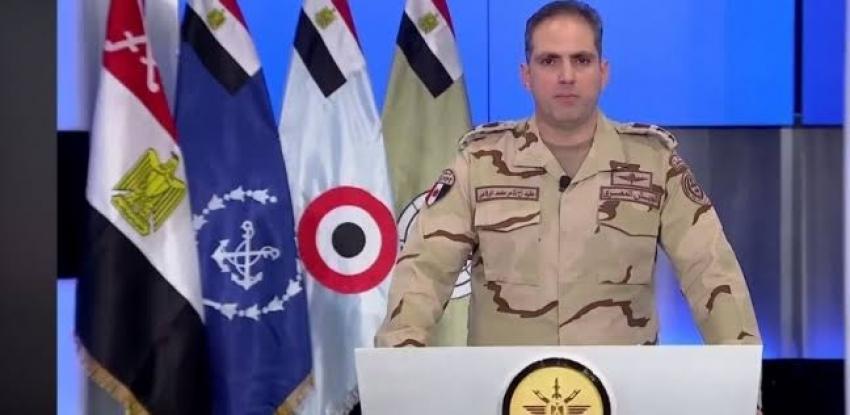 المتحدث العسكري: سقوط طائرة أثناء طلعة تدريبية بسبب عطل مفاجئ