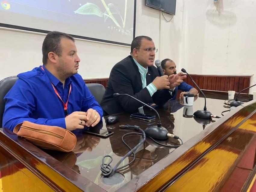 ختام فاعليات اليوم العلمى الأول للزمالة المصرية بمحافظة السويس .