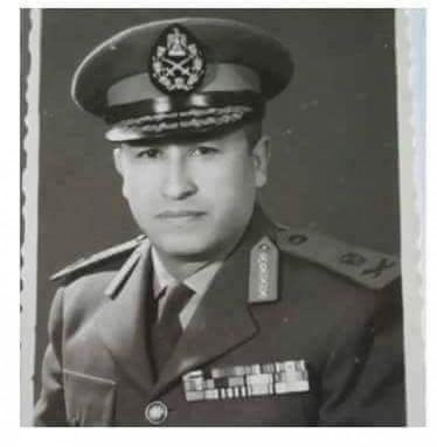 اللواء اح نوال السعيد   رئيس هيئة الامداد والتموين اثناء حرب 73