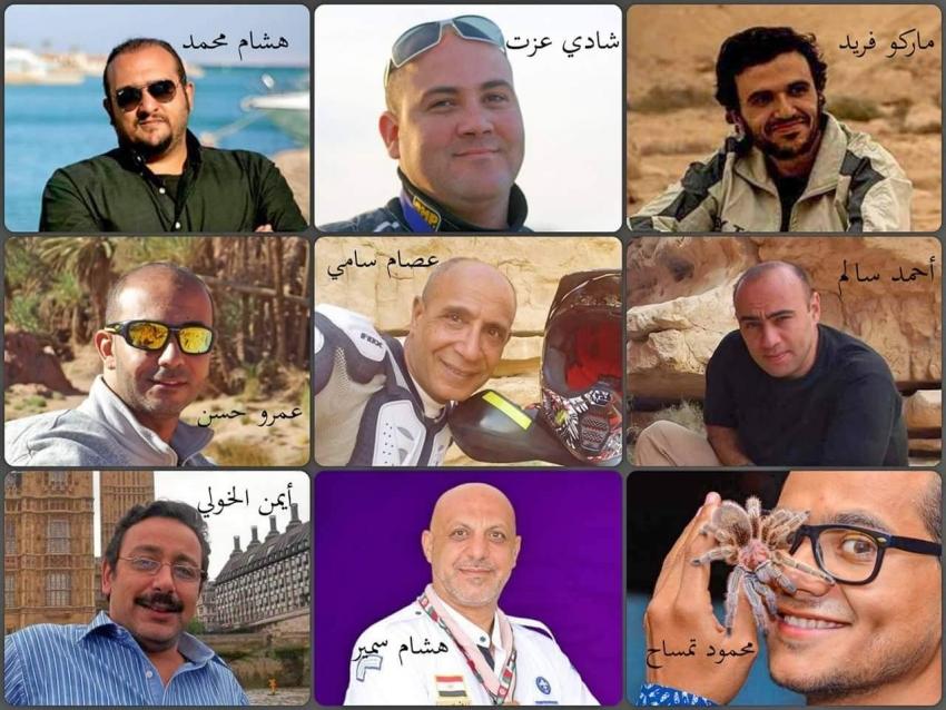 """ابن السويس هشام سمير """"مغامر من أجل البقاء """"بساقية الصاوي"""