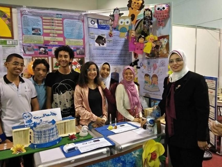 جامعة الطفل بجامعة السويس تحصد المركز الثانى بالمعرض الدولي الخامس للابتكار
