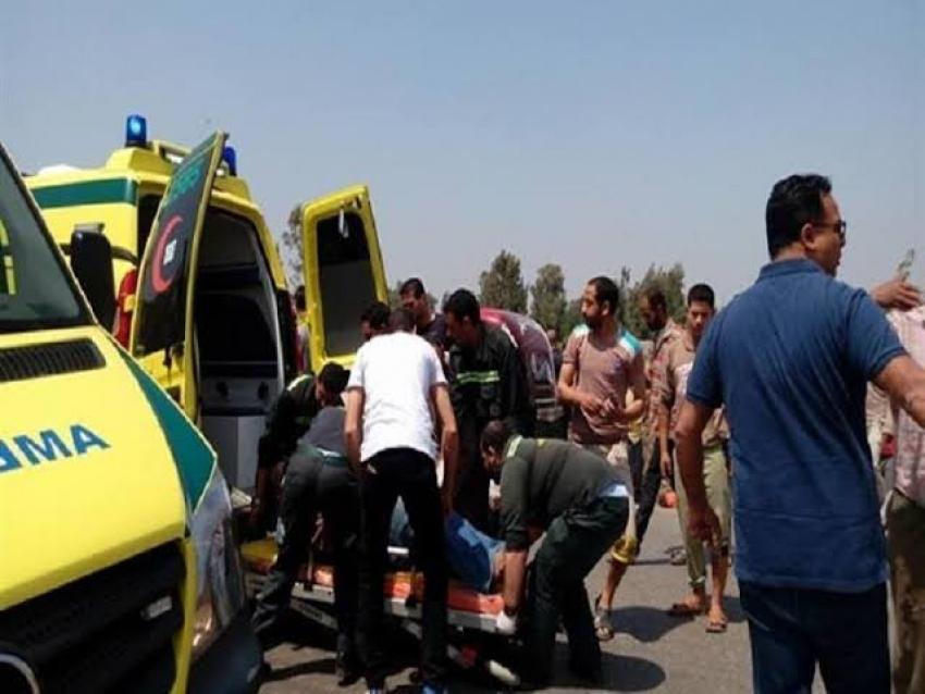 إصابة 38 طالبا في انقلاب أتوبيس بطريق «قنا – سفاجا»