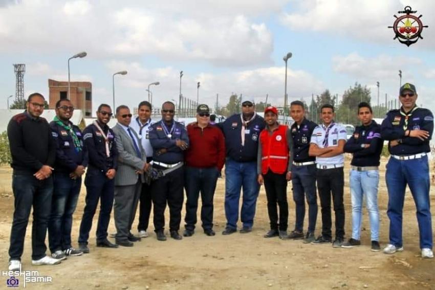 الكشافة البحرية المصرية فرع السويس تستعد لاستضافة مناورة الأزمات والكوارث .