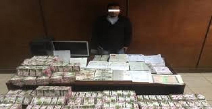 سقوط هارب من 30 سنة سجن وبحوزته 33 ألف قرص مخدر ومستندات مزورة بالهرم