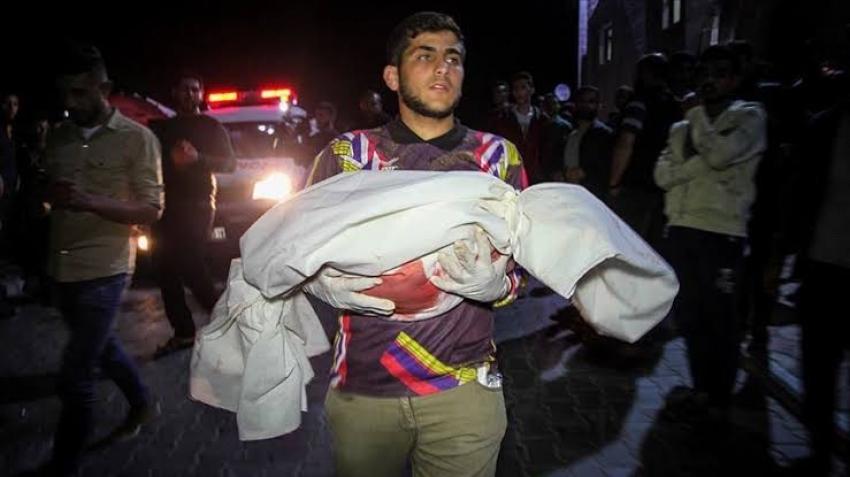 ارتفاع شهداء غزة جراء الغارات الإسرائيلية إلى 27 شخصا