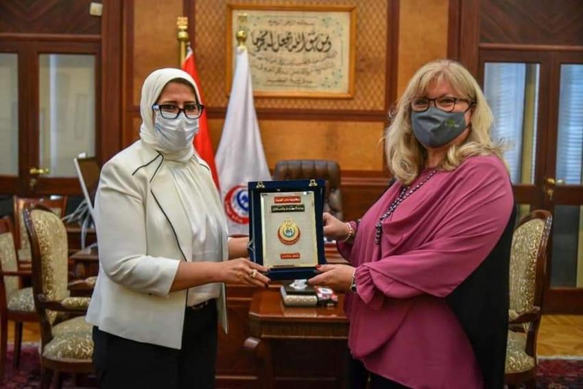 وزيرة الصحة: الاتفاق على التعاون مع سلوفينيا لإنشاء مراكز قومية للتأهيل الحركي بمصر