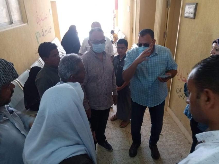 الحفناوي في زيارة ميدانية لوحدة عرب العمارين