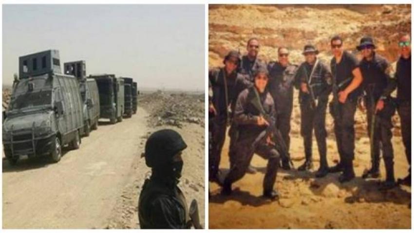 حادث الواحات الارهابي.. الإرهاب الأسود يغتال 16 ضابطا وشرطيا