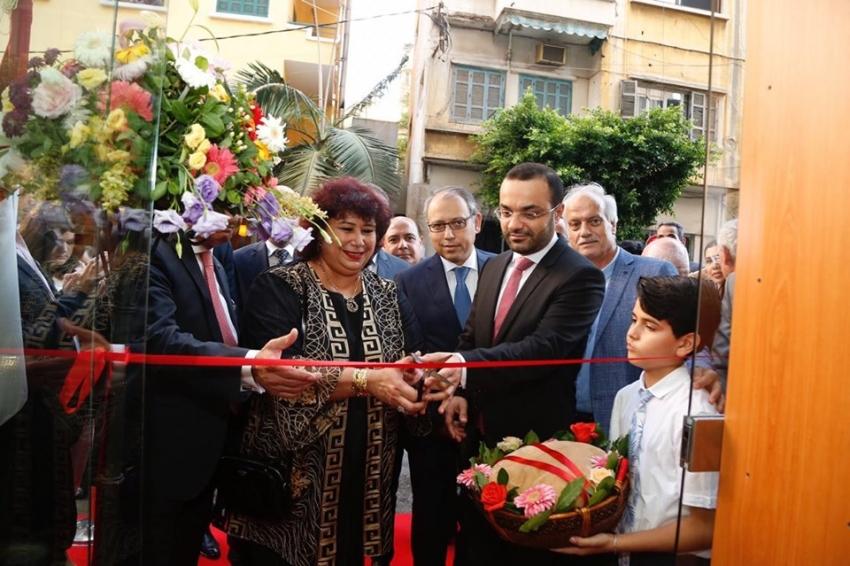 وزيرا ثقافة مصر ولبنان افتتحا فرع الهيئة العامة للكتاب ببيروت